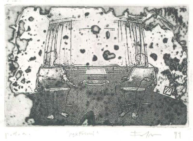 incisione  / engraving 1999
